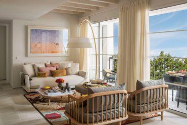 Decor de vacanță într-un apartament din Mallorca