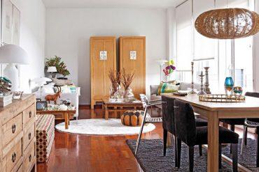 Mix vesel de stiluri și culori într-o casă din Sierra de Guadarrama
