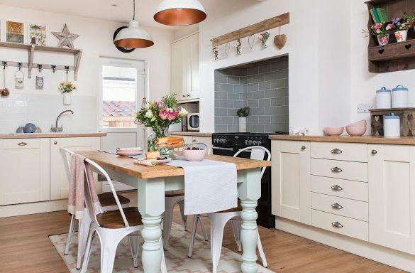 Accente rustice și un decor relaxat într-o casă din Somerset, UK