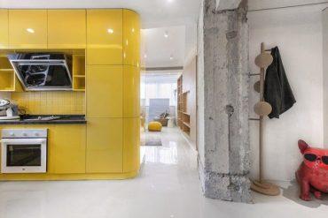 Garsonieră de 48 m² amenajată funcțional și ultramodern