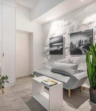 Proiect de amenajare pentru o garsonieră de numai 11.5 m²