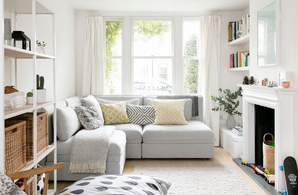 Influențe scandinave în amenajarea unei case din sudul Londrei