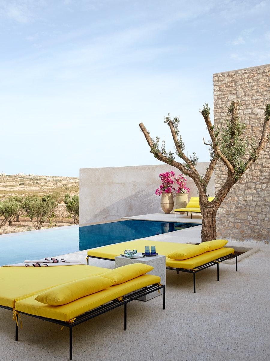Rustic contemporan într-o vilă de la marginea deșertului, Maroc 14