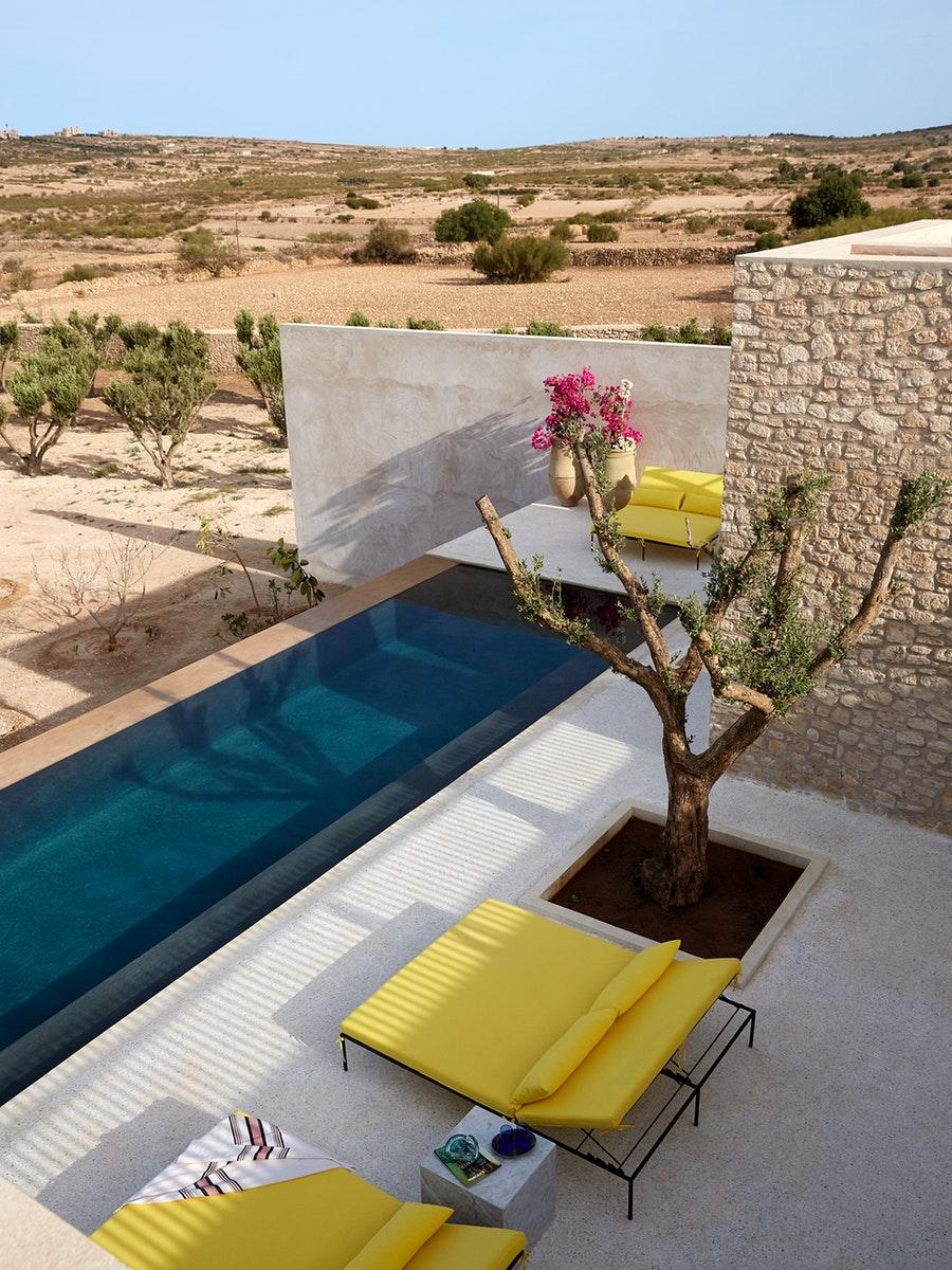 Rustic contemporan într-o vilă de la marginea deșertului, Maroc 15