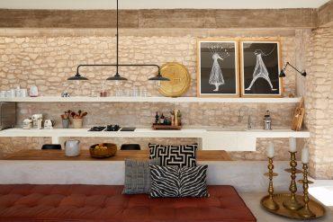 Rustic contemporan într-o vilă de la marginea deșertului, Maroc 8