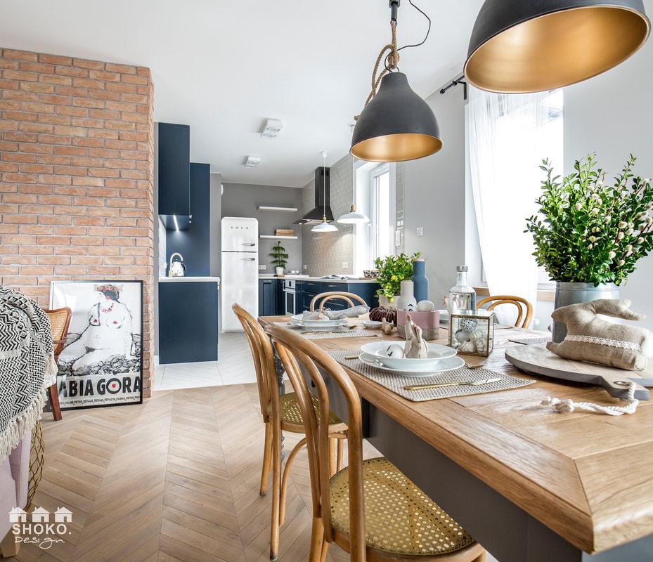 Design interior în plan deschis pentru un apartament de 70 m² 1a