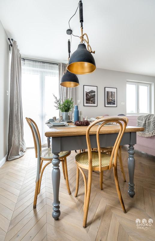 Design interior în plan deschis pentru un apartament de 70 m² 1e
