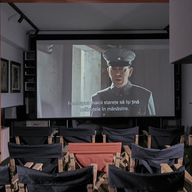 cinema in living