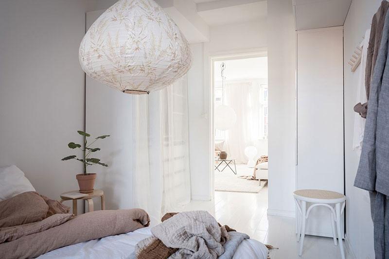 corp de iluminat textil
