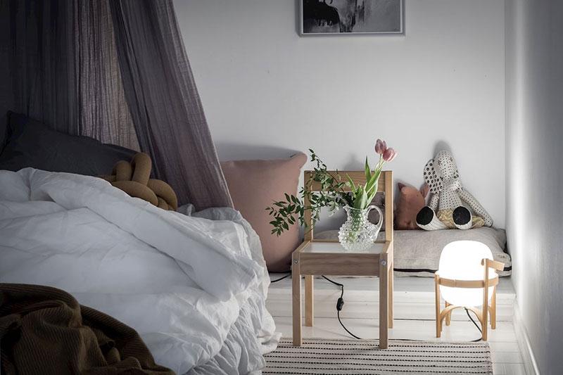 camera copii scandinava