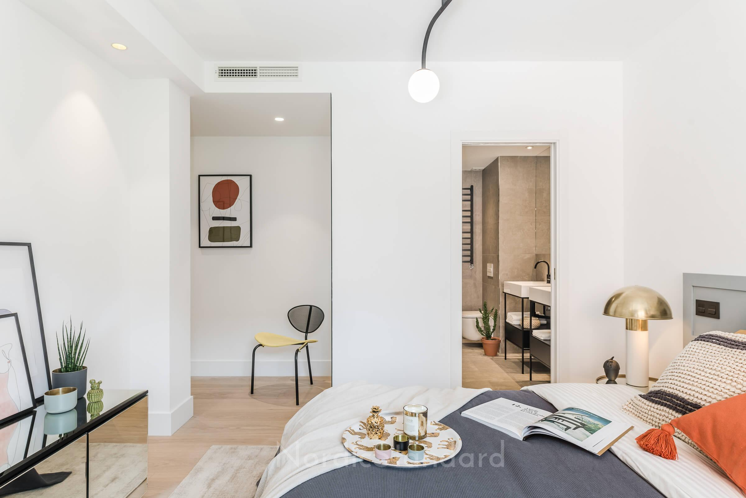 Stil contemporan cu influențe scandinave într-un apartament din Madrid 19