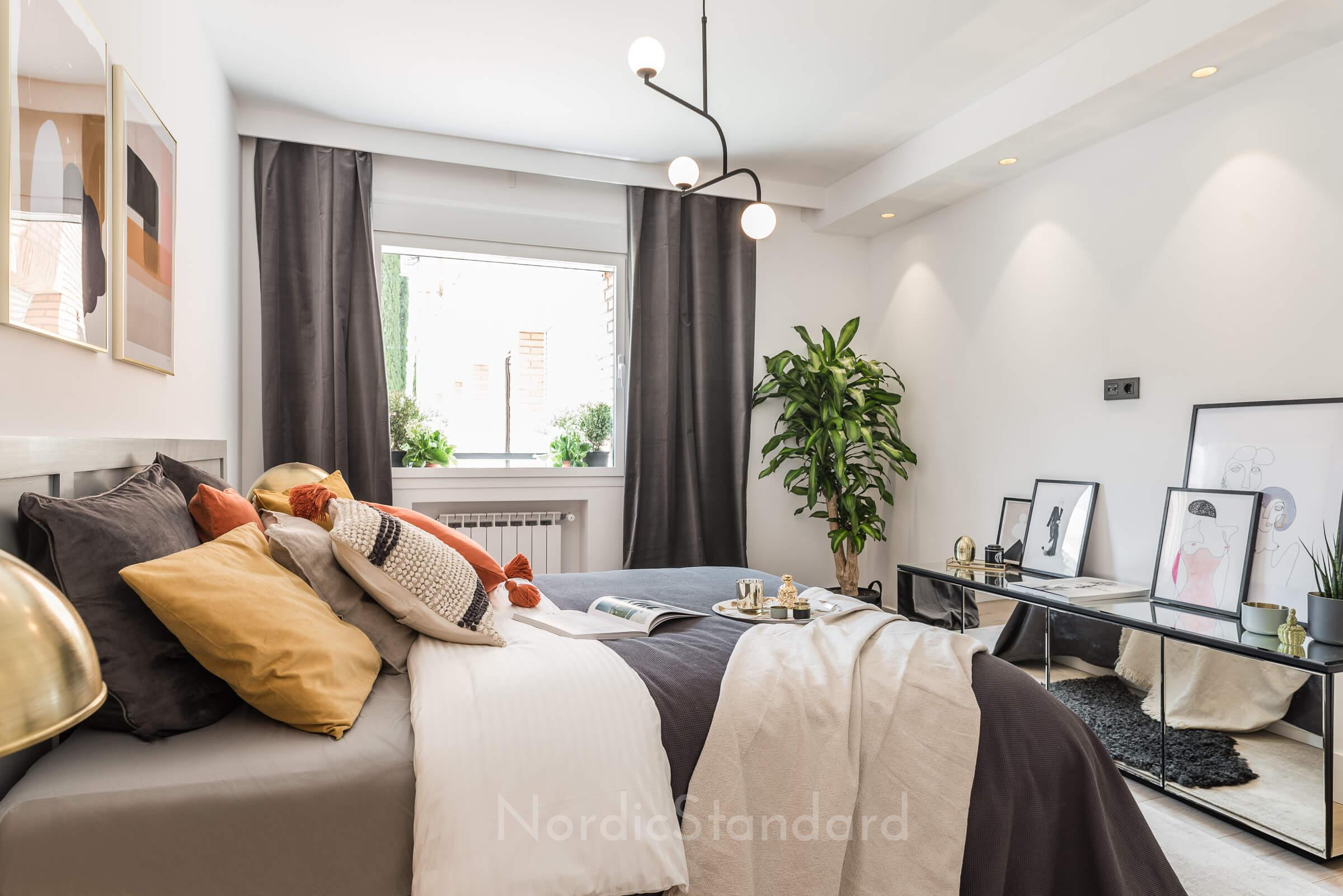 Stil contemporan cu influențe scandinave într-un apartament din Madrid 20