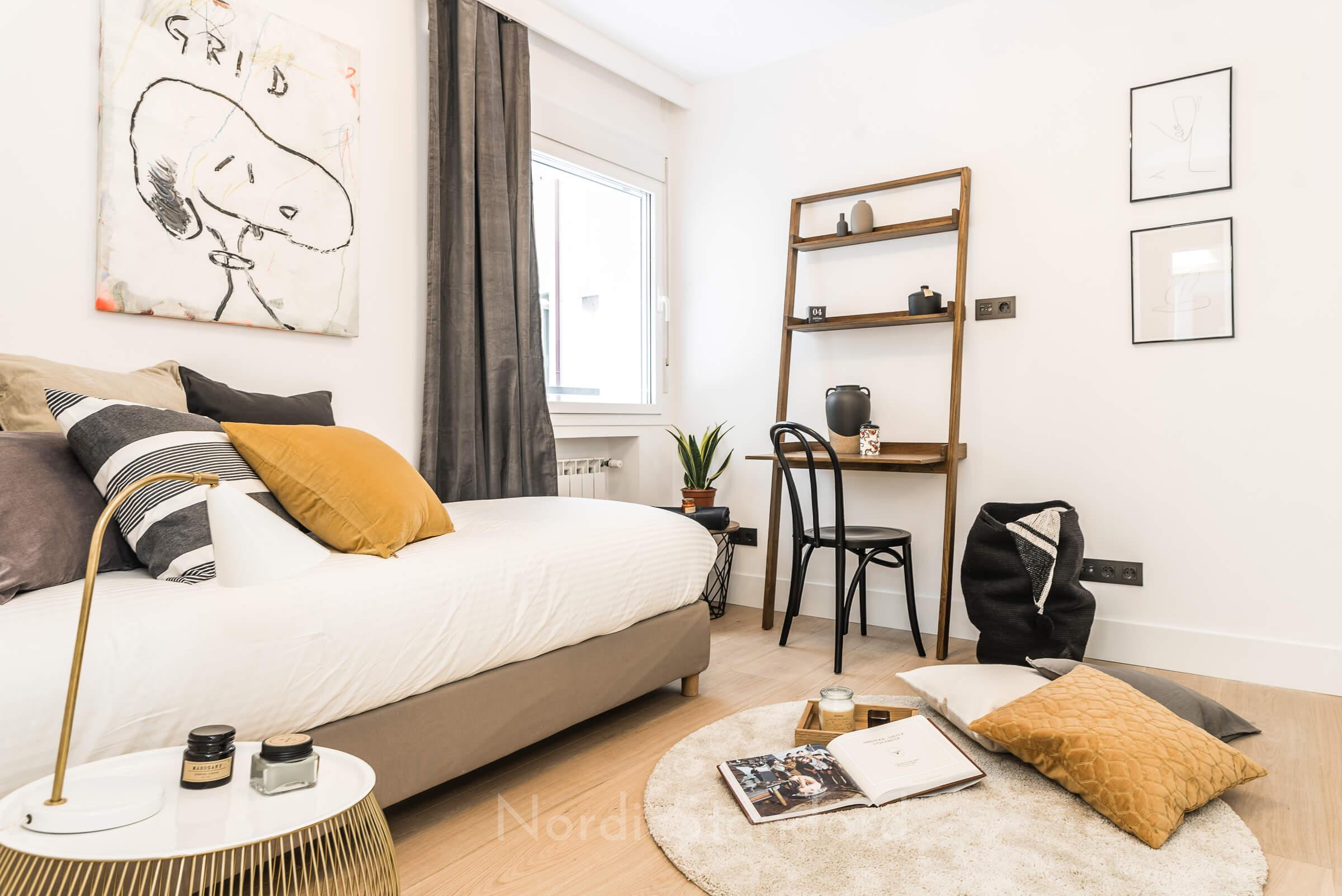 Stil contemporan cu influențe scandinave într-un apartament din Madrid 22
