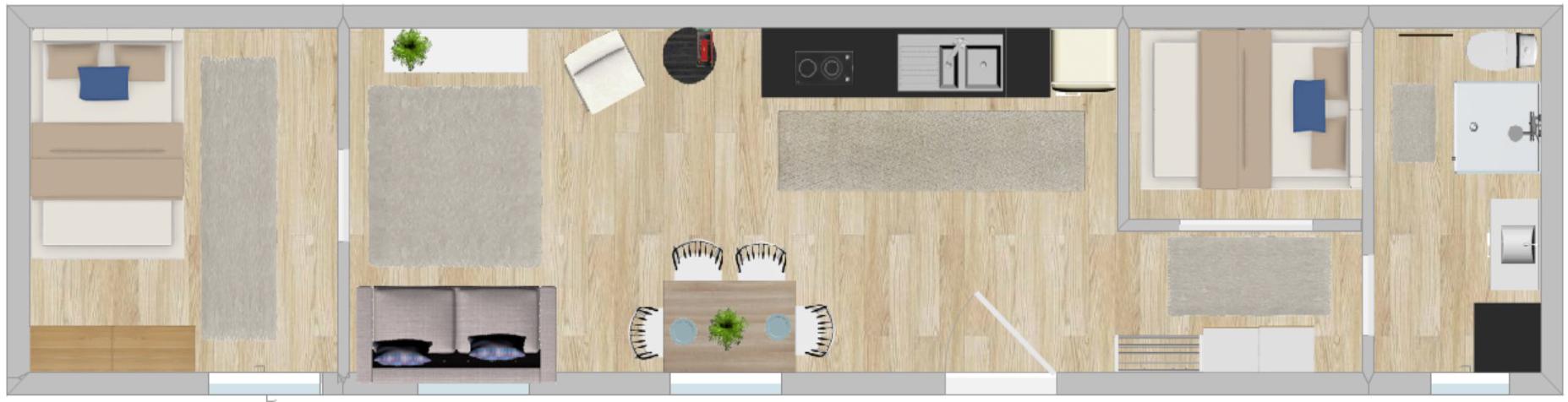 plan casă mobilă