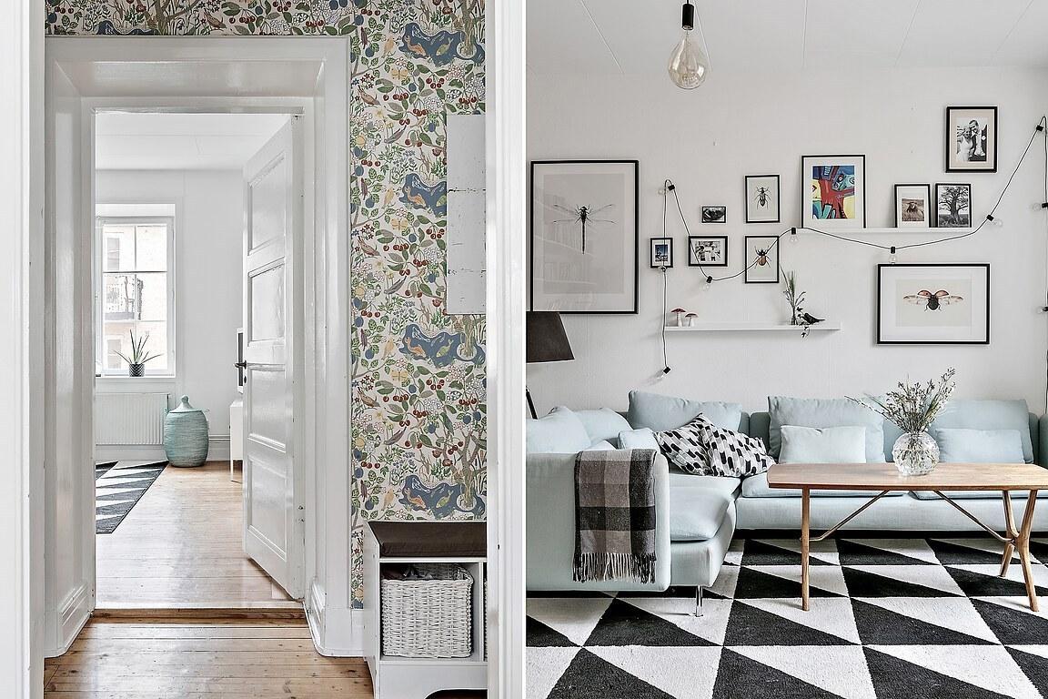 Accente rustice și vintage într-o mansardă pe două niveluri 14