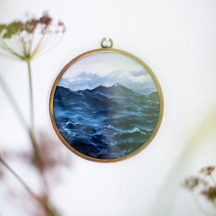 Accente vintage într-o amenajare în alb imaculat de la malul mării 1