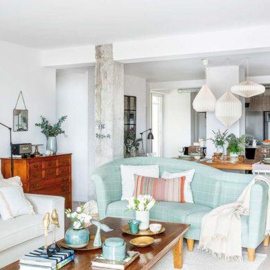 Accente vintage și detalii rustice într-un apartament plin de personalitate 1