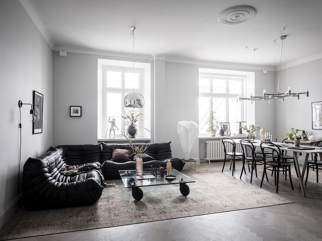 Amenajare scandinavă într-un apartament de 87 m² 9