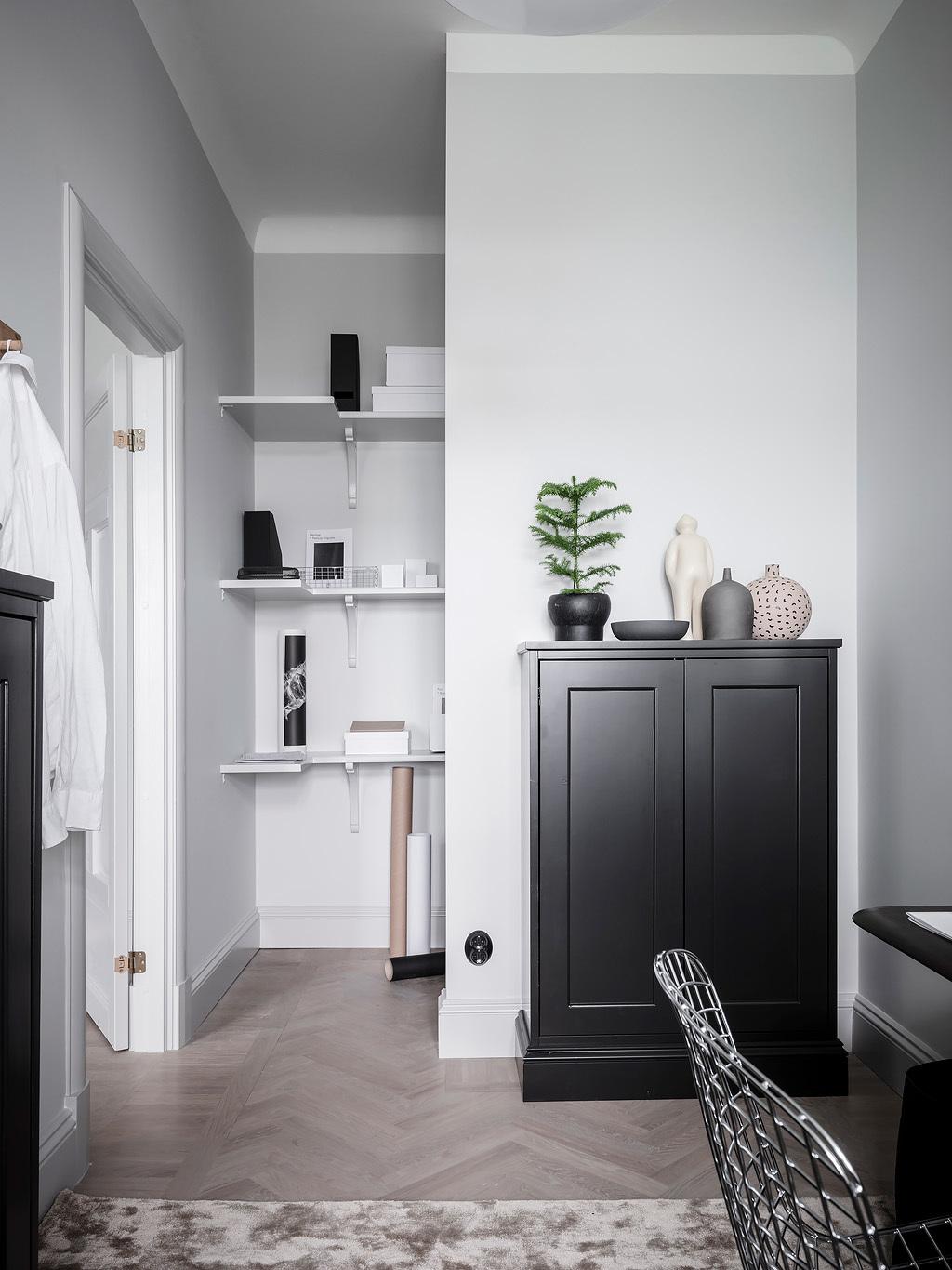 Amenajare scandinavă într-un apartament de 87 m² 30