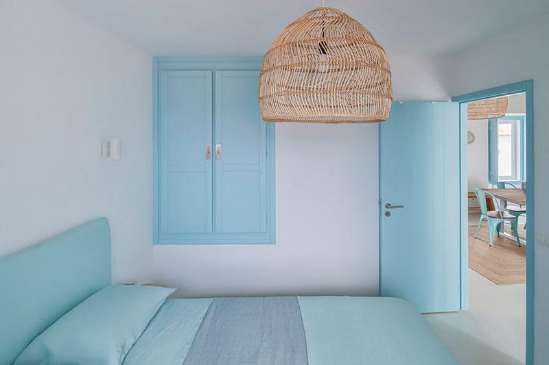 dormitor albastru