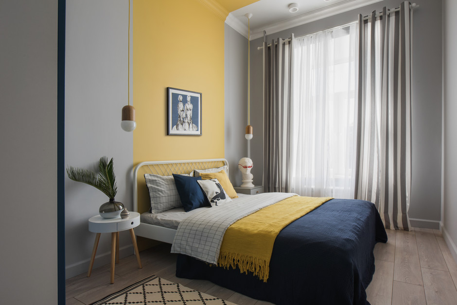 Amenajare veselă în dormitor