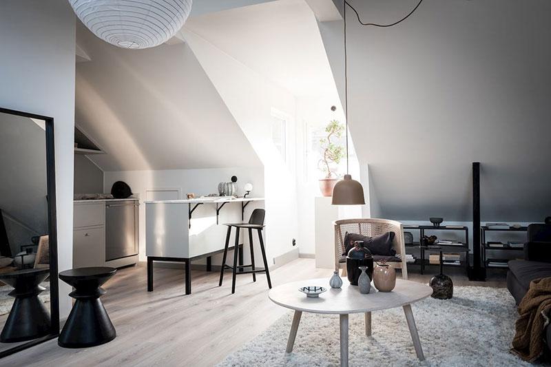 Idee practică de amenajare a unei mansarde de 35 m² 7