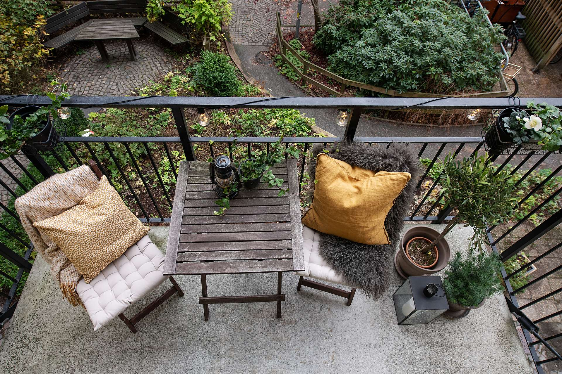 idee amenajare balcon