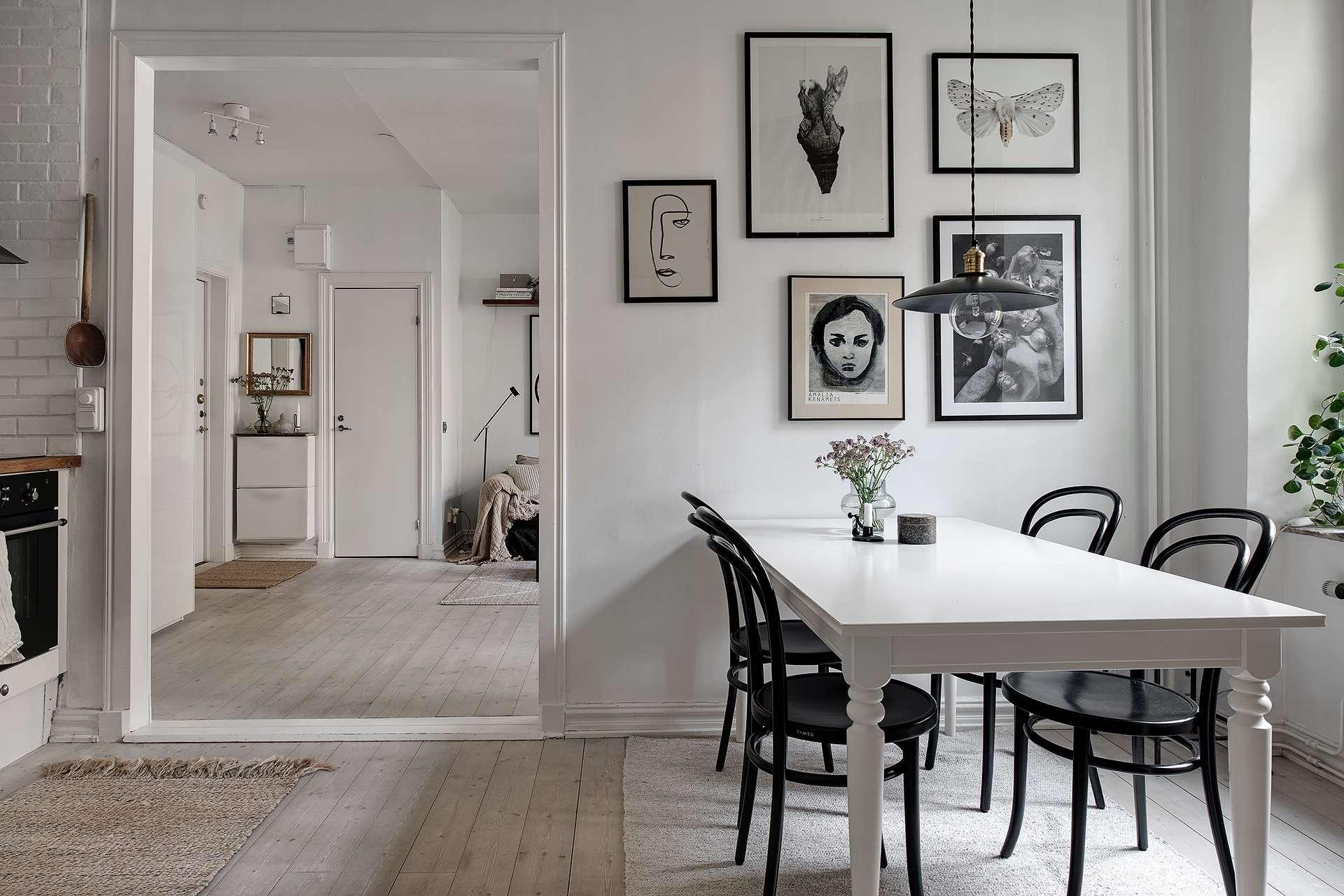 sufragerie scandinava