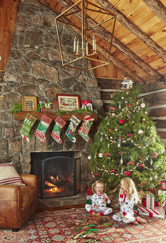 Crăciun într-o cabană
