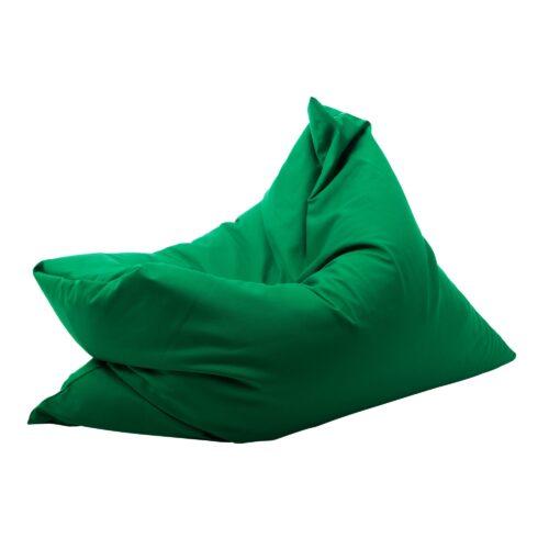 Fotoliu puf verde