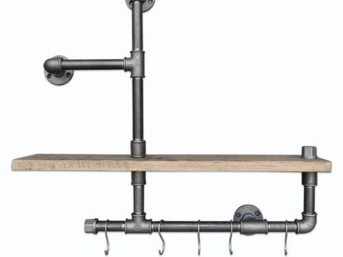Raft cu detaliu metalic
