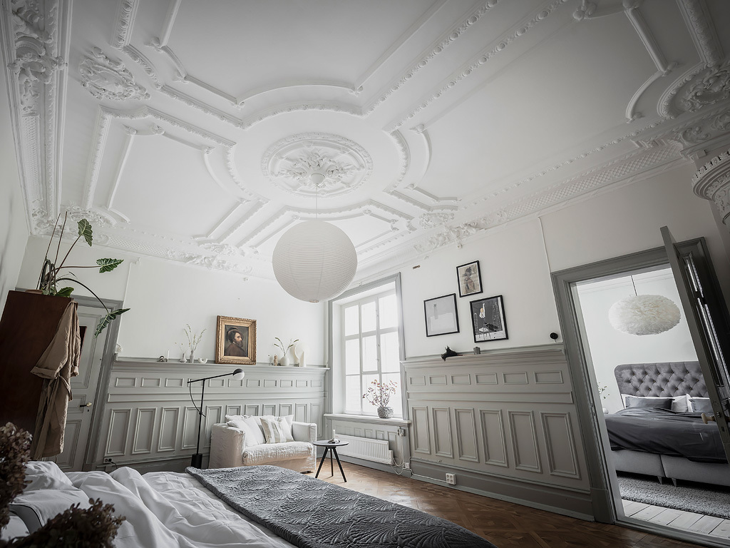 tavan decorat