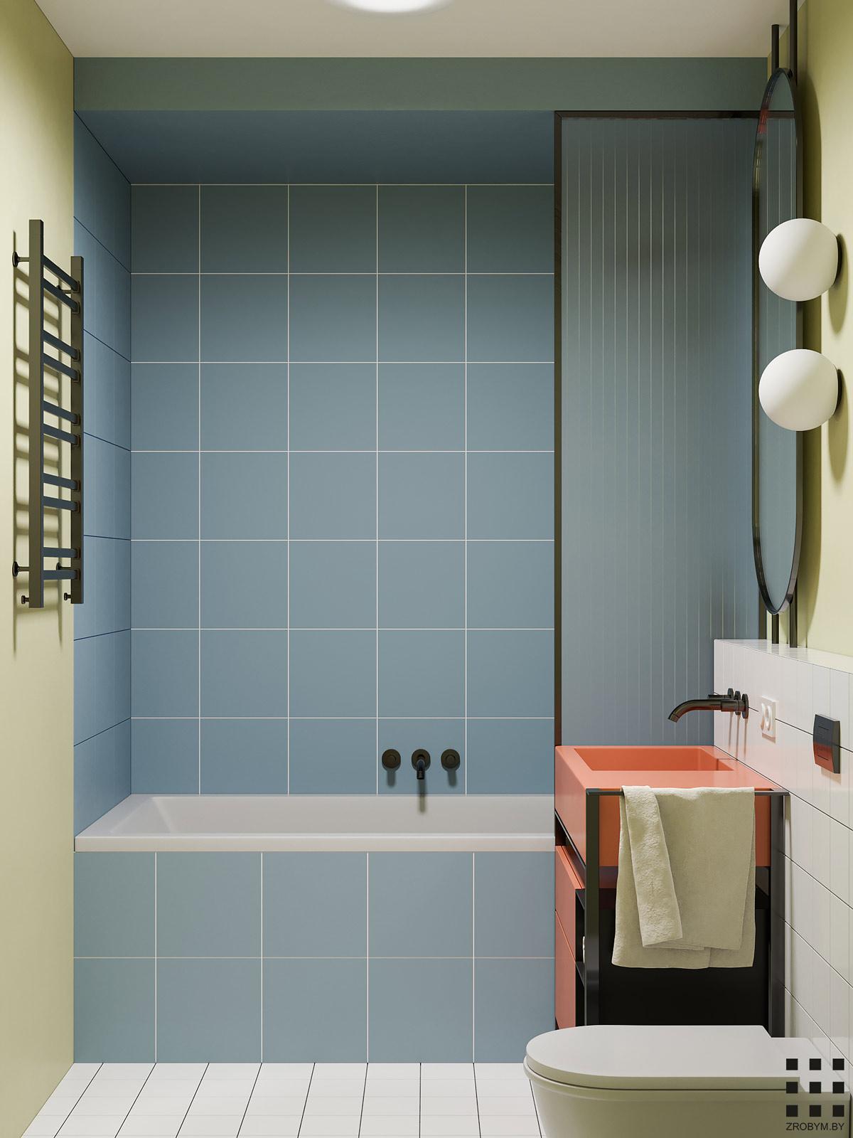 baie in stil modernist