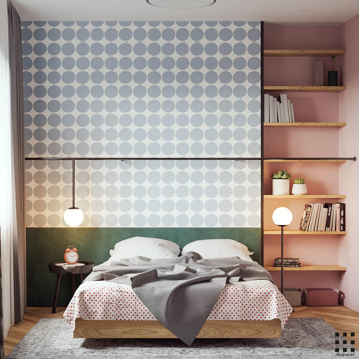 dormitor stil modernist