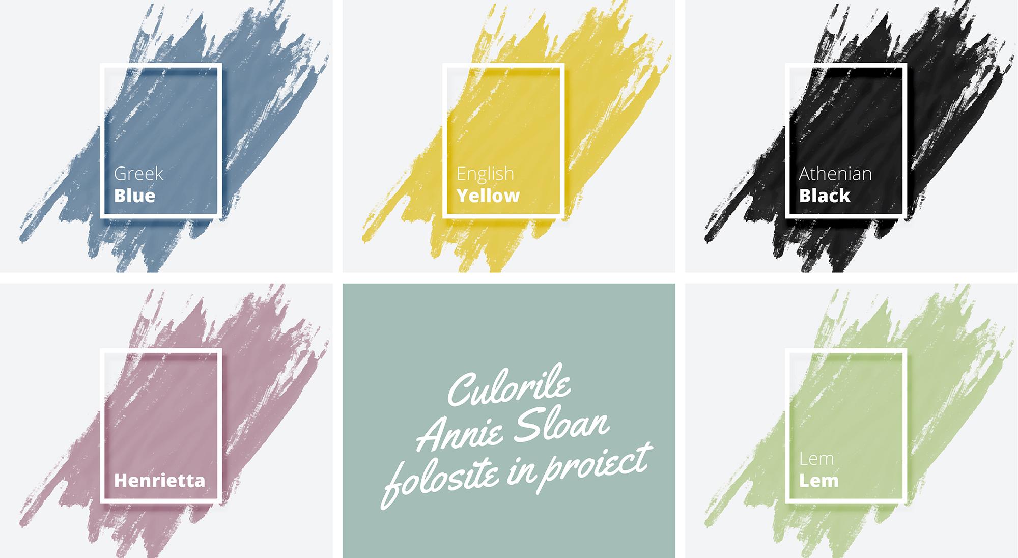 culorile Annie-Sloane Annie Sloan Chalk Paint Jurnal