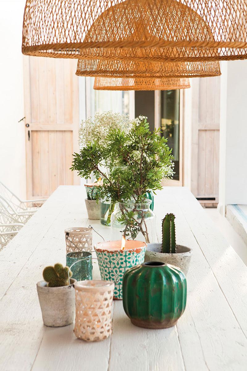Accente vesele de culoare și decor mediteranean într o casă de vacanță din Formentera Spania 4