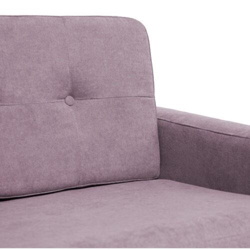 Canapea violet cu 2 locuri 5