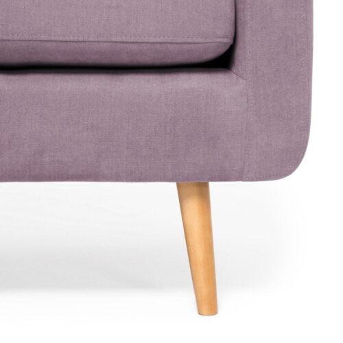 Canapea violet cu 2 locuri 6
