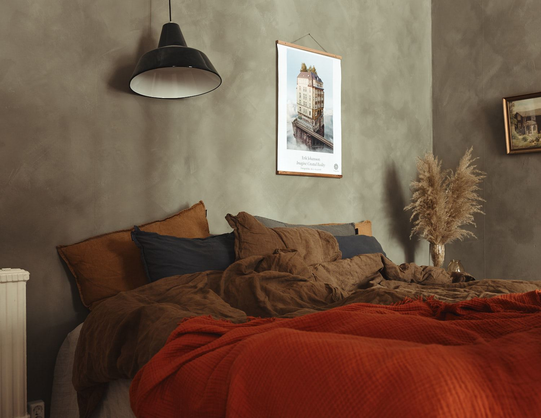 Culori tomnatice in dormitor