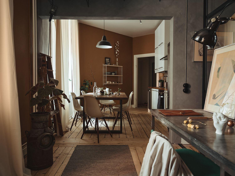 Culori tomnatice in bucatarie