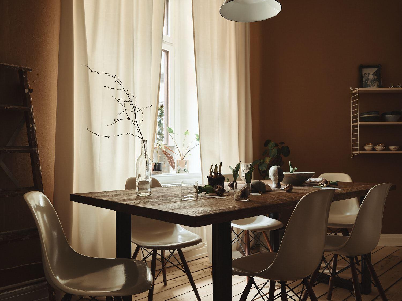 Culori tomnatice in sufragerie