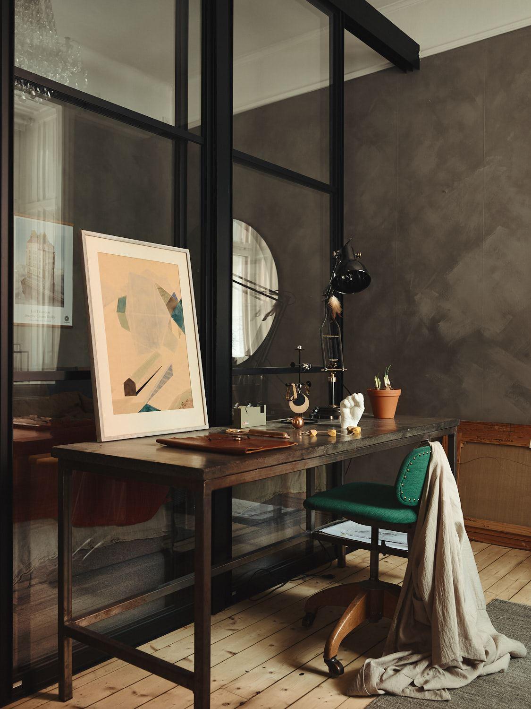 Culori tomnatice in birou