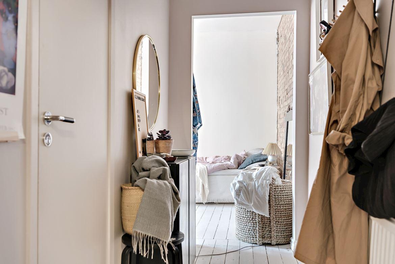 Decor boem într o garsonieră de 31 m² din Suedia 10