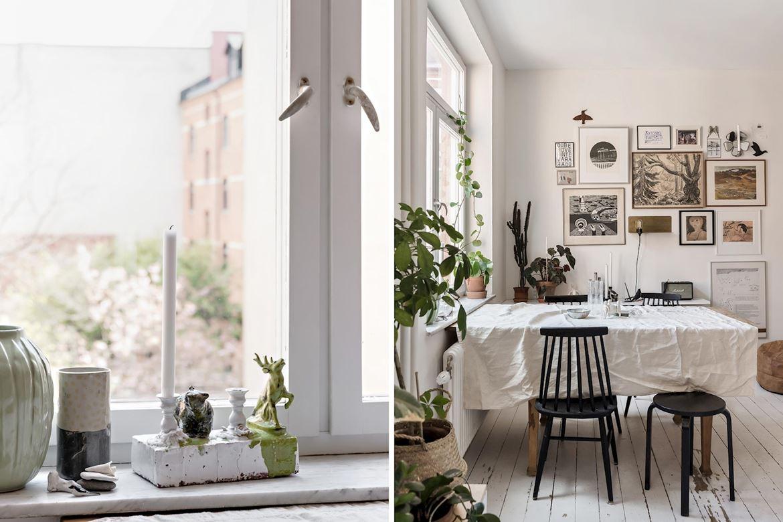 Decor boem într o garsonieră de 31 m² din Suedia 2a