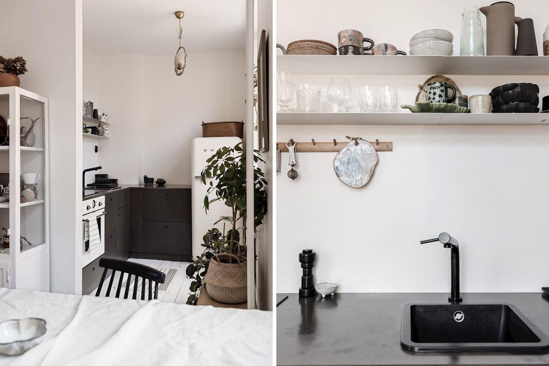 Decor boem într o garsonieră de 31 m² din Suedia 4