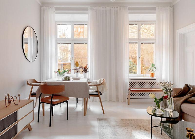 Decor luminos și aerisit într un apartament de 52 m² 2