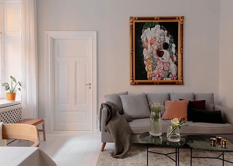 Decor luminos și aerisit într un apartament de 52 m² 5