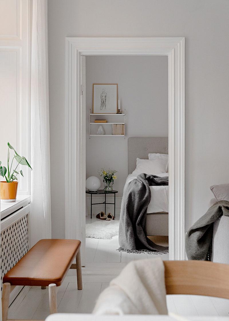 Decor luminos și aerisit într un apartament de 52 m² 5a