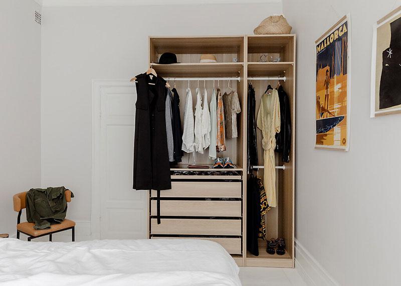 Decor luminos și aerisit într un apartament de 52 m² 5d