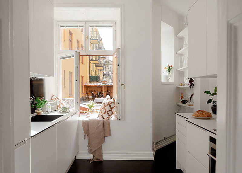 Decor luminos și aerisit într un apartament de 52 m² 9